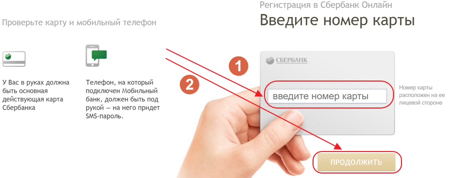 Процесс регистрации в Сбербанке Онлайн через компьютер